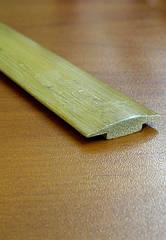 Бамбуковый молдинг стыковочный, светло-бежевый