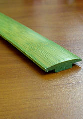 Бамбуковый молдинг стыковочный, зеленый