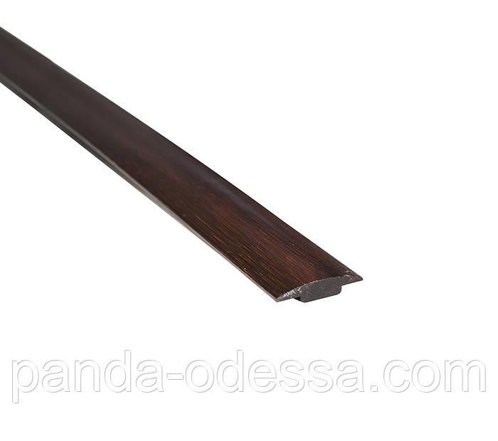 Бамбуковий молдинг стикувальний, венге