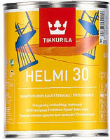 Краска для мебели Helmi Tikkurila водная п/мат Хелми, 0.9л