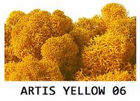 """МОХ для декора. Прямые поставки от """"Artis Green"""". Yellow 06"""