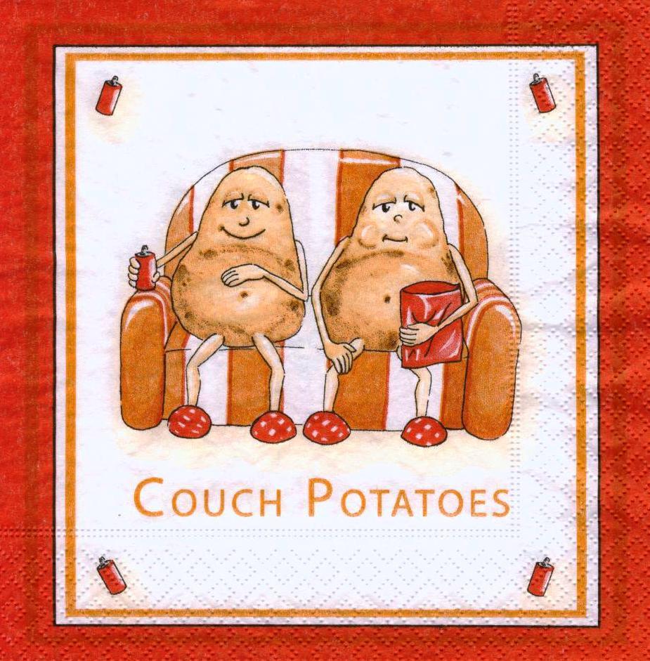 Редкая салфетка декупажная Potatoes 6275