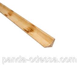 Бамбуковий молдинг кутовий внутрішній, черепаховий світлий