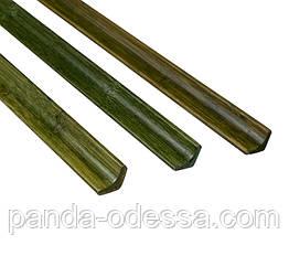 Бамбуковий молдинг кутовий внутрішній, сіро-зелений