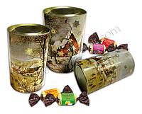 Шоколадный куб-сюрприз, конфеты «Монблан» 9 шт., фото 1