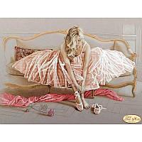 Балерина. Тэла Артис. Схема для вышивания бисером