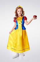 Карнавальный костюм для девочки на утренник «Белоснежка»