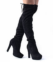 Женские сапоги ALNILAM Black, фото 1