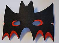 Карнавальная маска на Хэллоуин из фетра Бэтмен