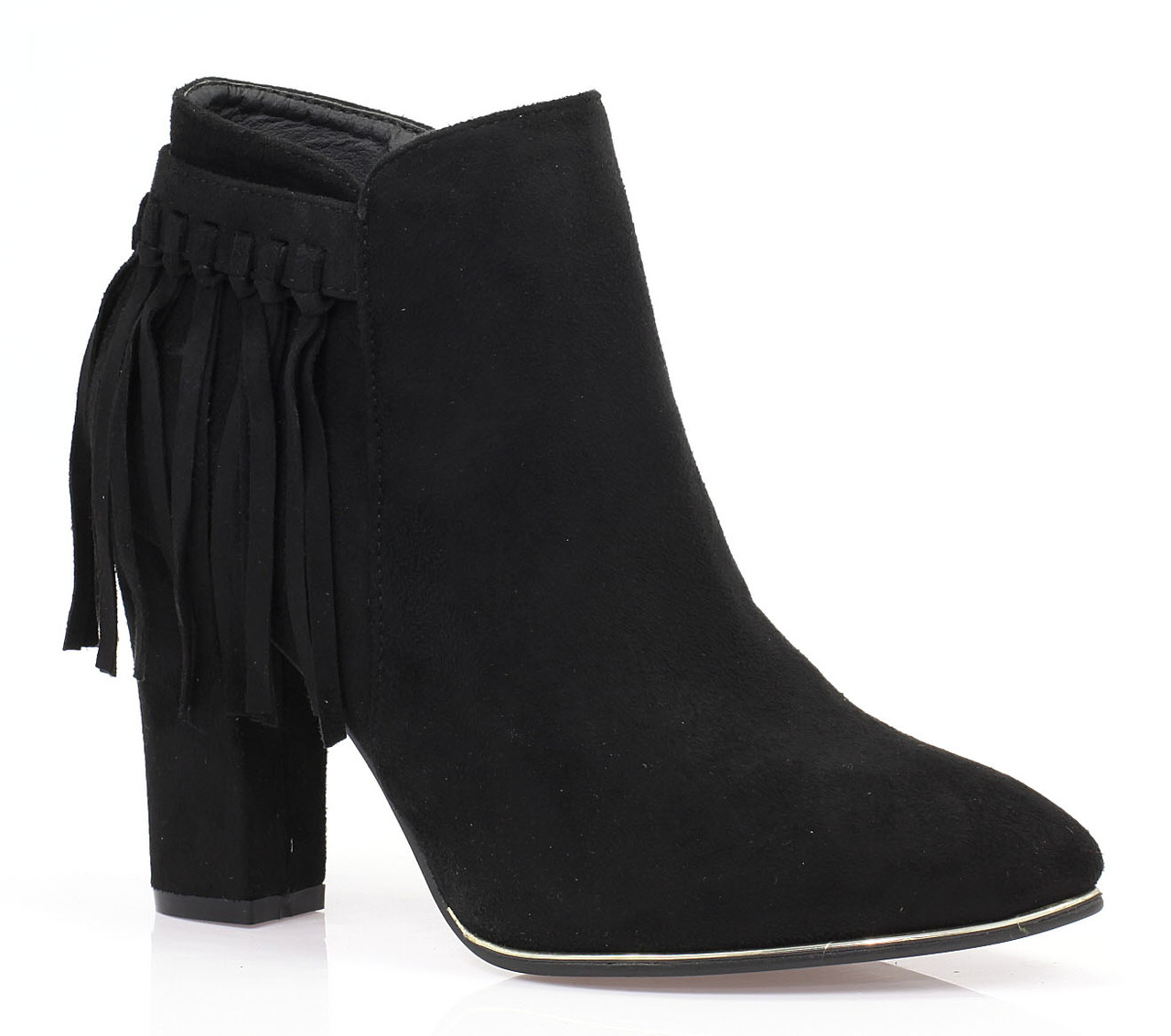 Женские ботинки Alniyat black
