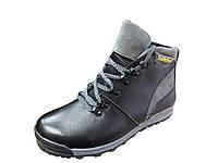 Ботинки подростковые кожаные