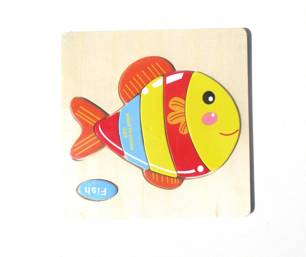 """Рамка-вкладыш """"Рыбка"""""""