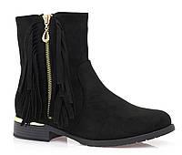 Женские ботинки ALPHEKKA black, фото 1