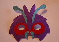 Маска на Хэллоуин из фетра покемон Венонат