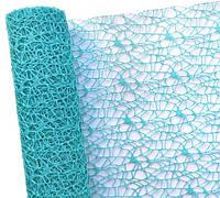 Сетка флористическая Poly net 1 бирюзовая 53см х 5ярдов