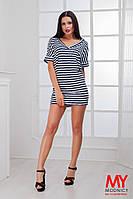 Платье-туника вискозное с V-образным вырезом 3210 Норма! (НАТ)