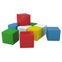 """Іграшка """"Кубики Веселка 1"""" (10 елементів) ТехноК"""