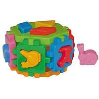 """Куб """"Розумний малюк Гексагон 1 ТехноК"""""""