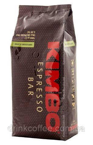 Кофе Kimbo Espresso Superior Blend, 70% Арабика, 30% Робуста, зерно, Италия, 1кг.