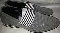 Мокасины мужские кожаные p40 COMFORTIME 11021