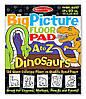 """Гигантская раскраска с динозаврами """"Английский алфавит"""", Melissa&Doug"""
