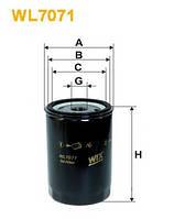 Фильтр масла WIX FILTERS WL7071