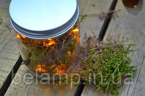 Гирлянда на батарейках: вариант декора дома