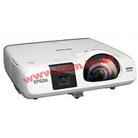 Короткофокусный проектор Epson EB-536Wi (WXGA, 3400 ANSI Lm) (V11H670040)