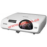 Короткофокусный проектор Epson EB-535W (3LCD, WXGA, 3400 ANSI lm) (V11H671040)