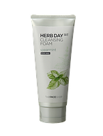 Очищающая пенка TheFaceShop HERBDAY 365 CLEANSING FOAM #6 SPEARMINT/мята