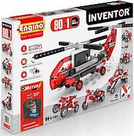 Конструктор Engino серии INVENTOR MOTORIZED 90 в 1  с электродвигателем (9030)