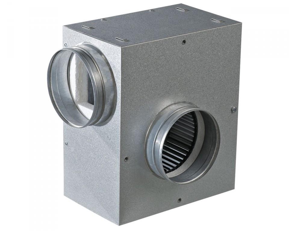 ВЕНТС КСА 125 2Е - шумоизолированный вентилятор