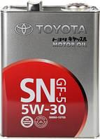 Масло моторное для бензинового двигателя TOYOTA SN 5W30 GF-5,4л.