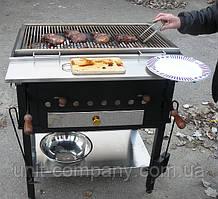Гриль з регульованою жаровнею (аналог PEVA), BBQ