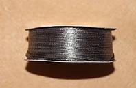 Лента атласная 3 мм серая 16603