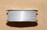 Лента атласная 3 мм белая 16605, фото 1
