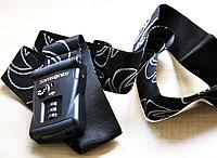 Ремень для чемодана чёрный с TSA замком Samsonite