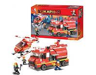 Конструктор Sluban Пожарные спасатели: 409 деталей