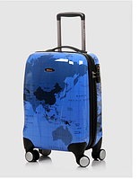 Малый синий чемодан Eminent