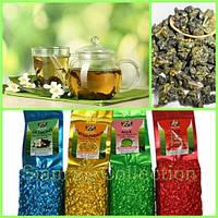 Чай Улун Молочный, с Годжи, Жасмином, Хризантемой.