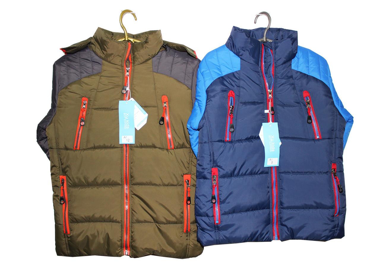 Куртка детская подростковая на зиму мальчику. A-1