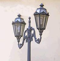 Железный светильник