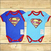 Боди детский Супермен 68 - 92 см