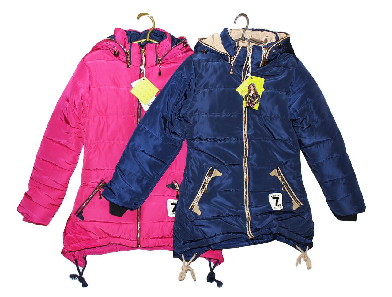 Куртка подростковая для девочки на зиму Р - 27