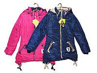 Куртка подростковая для девочки на зиму Р - 27, фото 1