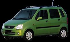 Тюнинг Opel Agila 2000-2007