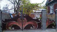Кованные ворота 18900