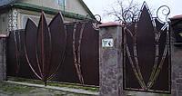 Кованные ворота 17150