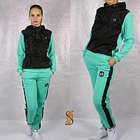 Женский спортивный костюм с начесом больших размеров (4 цвета)