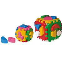 """Куб """"Розумний малюк 1+1 ТехноК"""""""